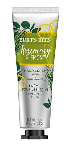crema de manos burts bees romero y limón 28gr