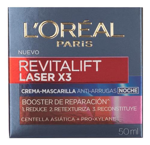 crema de noche revitalift laser loreal paris