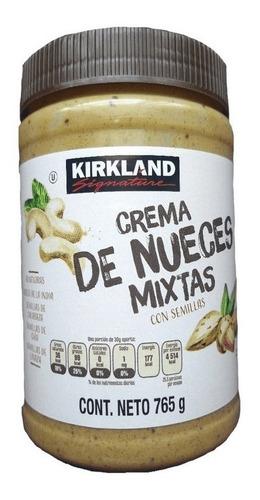 crema de nueces mixtas con semillas 765g kirkland