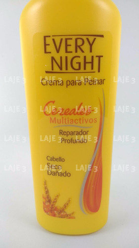 crema de peinar every night cereales multiactivos 240ml
