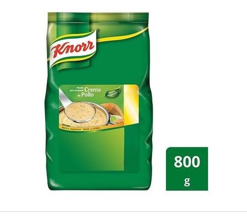 crema de pollo knorr x 800 grs - unidad a $1