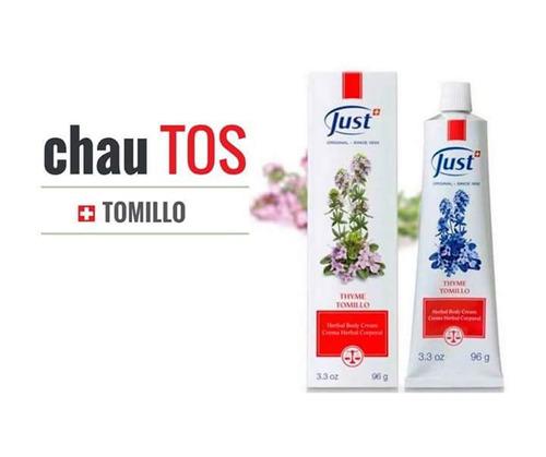 crema de tomillo - swiss just - s/109.90