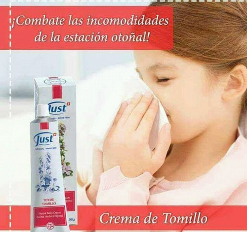 crema de tomillo - swiss just - s/114.90