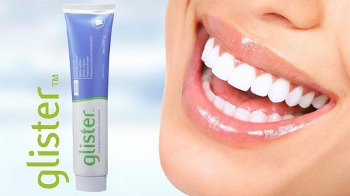 crema dental blanqueadora glister amway