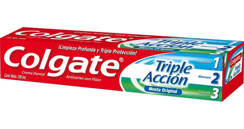crema dental colgate triple accion 100 ml