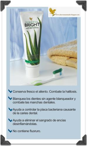 crema dental sin fluor a base de aloe vera con propoleo
