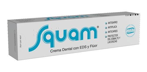 crema dental squam por 120 gramos