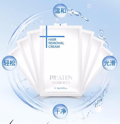 crema depiladora pilaten 10gr pilaten hair removal cream