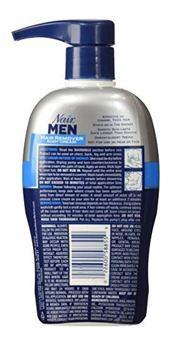 crema depilatoria nair hombres  13 oz
