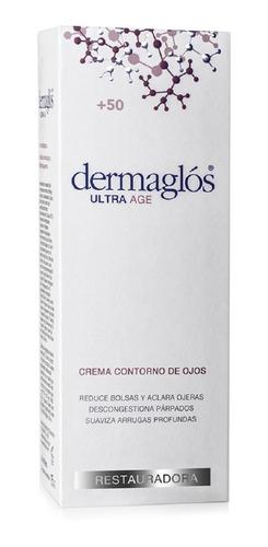 crema dermaglós contorno de ojos ultra age +50 x 15 gr