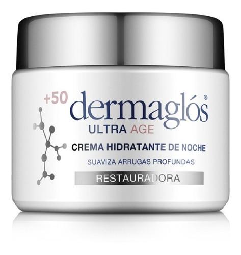 crema dermaglós hidratante de noche ultra age +50 50 gr