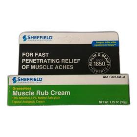Crema Dr. Sheffields Muscle Rub
