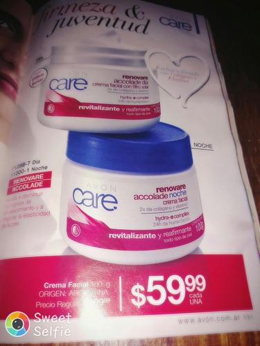 crema facial 100 g dia/noche avon