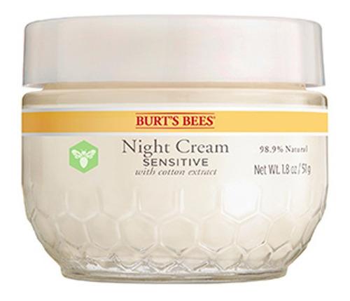 crema facial de noche burt's bees sensitve 51gr