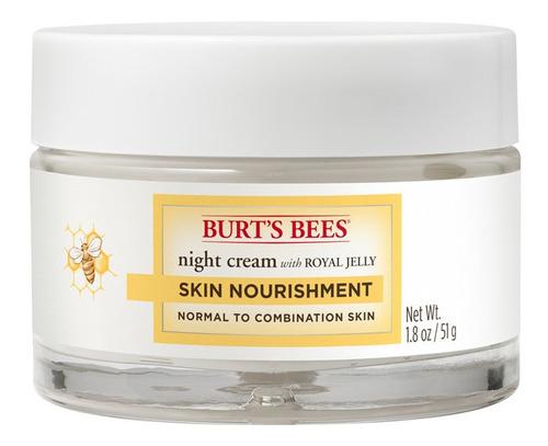 crema facial de noche burt's bees skin nourishment 51gr