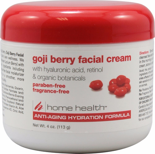 crema facial goji berry anti edad acido hialuronico retinol