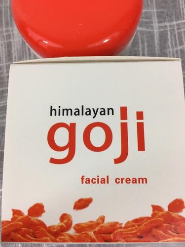 crema facial goji del himalaya c/acido hialuronico original