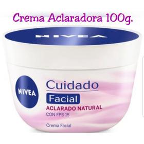 Crema Facial Nivea Aclarado Natural 100g. Original 100%