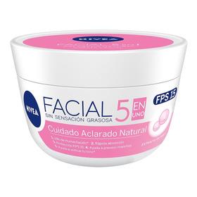 Crema Facial Nivea Aclarado Natural 5 En Uno 50 Ml