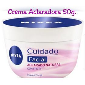 Crema Facial Nivea Aclaradora. Aclarado Natural 50g Original