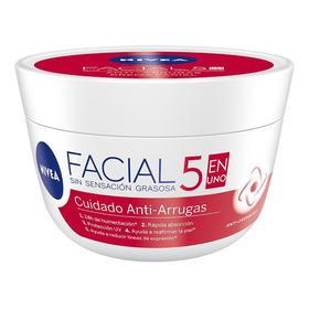 Crema Facial Nivea Anti Arrugas 5 En Uno 50 Ml