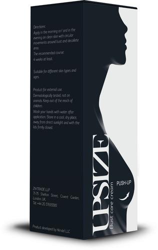crema femenina para el busto upsize 50ml hendel's exclusive