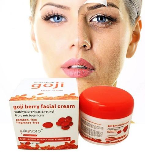 crema goji facial + crema goji contorno de ojos