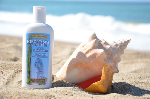 crema hidratante after sun 100 %  biodegradable 250 ml.