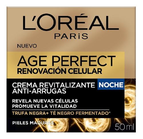crema hidratante antiarrugas age perfect loreal, 50ml