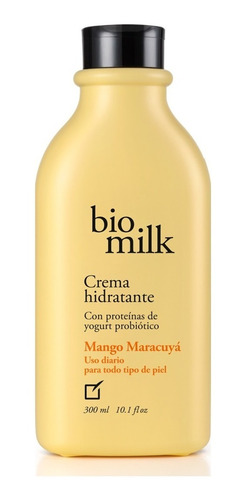 crema hidratante bio milk mango maracuya unique nuevo