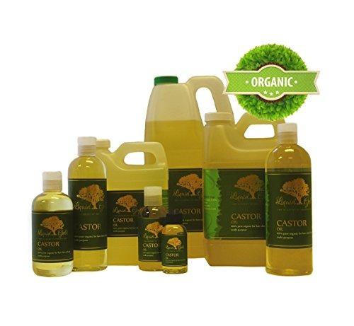crema hidratante del cuidado de la piel del aceite de ricin