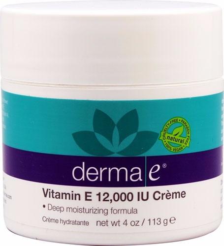 crema hidratante derma-e 4oz 113g tarro grande vitam e 12mil