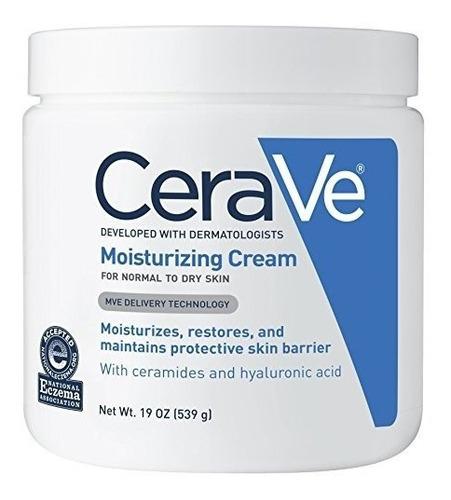 crema hidratante facial y corporal cerave moisturizing