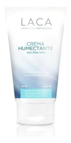 crema humectante con aloe vera 140gr laca