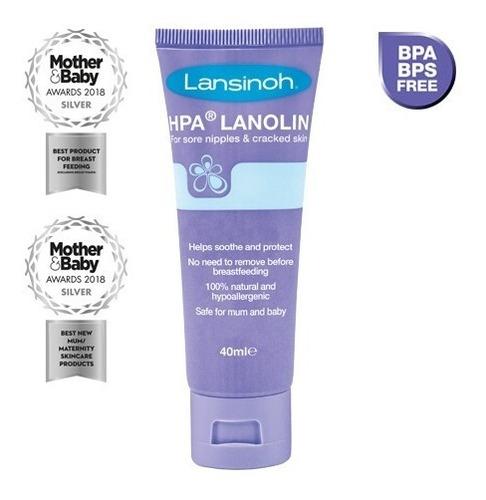 crema lanolina lansinoh hpa | tubo 40 gr