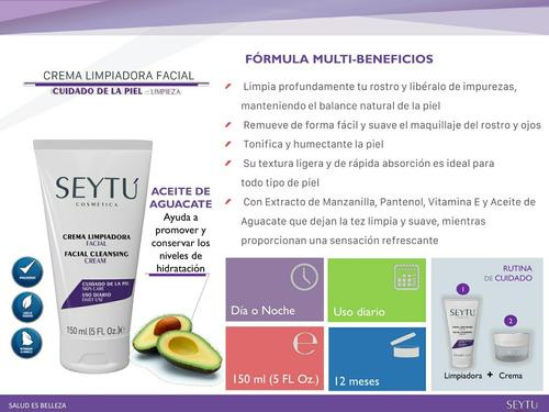 crema limpiadora facial hipoalergénica seytú-cosmética