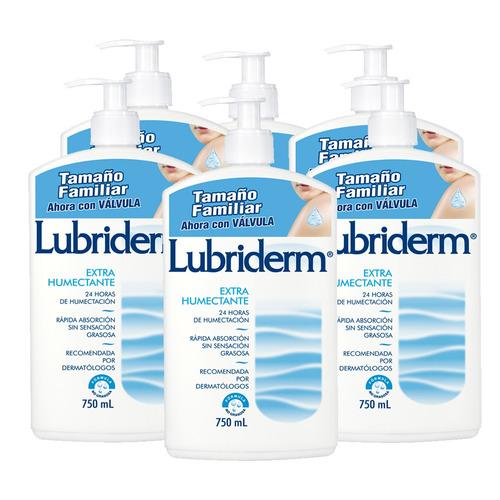 crema lubriderm extra humectante 750ml x 6 unidades