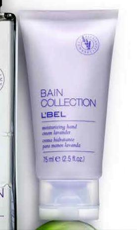 crema manos hidratante lavanda bain collection lbel