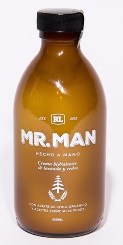crema natural organica corporal mr. man hombre