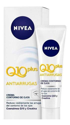 crema nivea antiarrugas q10 plus contorno de ojos