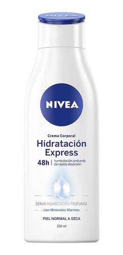 crema nivea body hidratante piel normal 250ml
