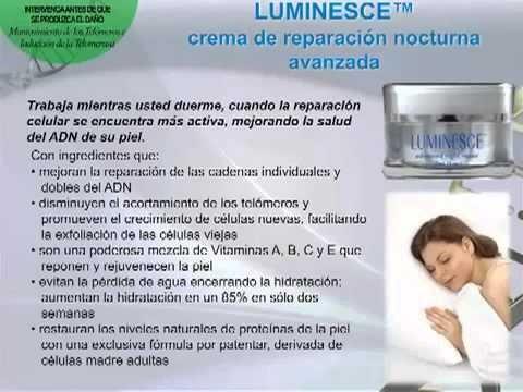 crema nocturna re reparación avanzada luminesce