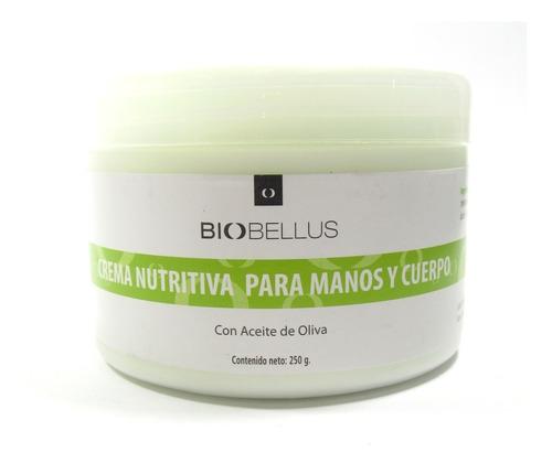 crema nutritiva p/manos y cuerpo 500gr biobellus 100069