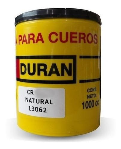 crema para cueros duran cr10 1 kg negro  - w75/1