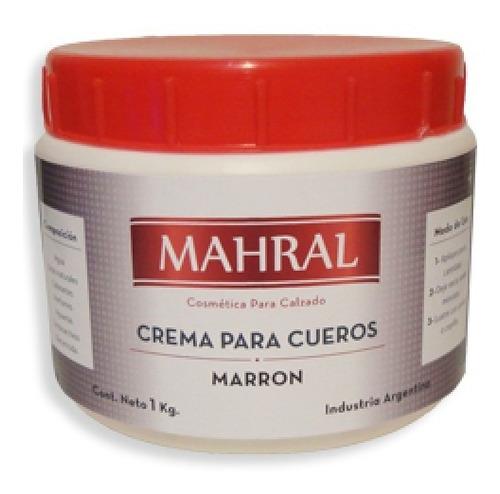 crema para cueros mahral 500cc suela - t279/62
