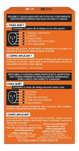 crema para hombre anti-fatiga, men expert loreal, 50 ml