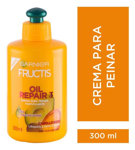 crema para peinar x300gr oil repair 3 fructis garnier