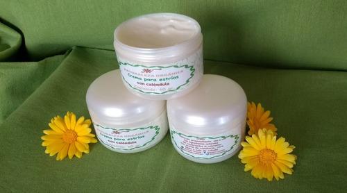 crema para piel seca-fotoenvejecida-estrias con caléndula