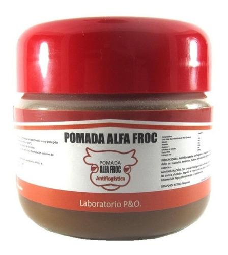 crema pomada  alfa froc reductora adelgazante x  250 gramos