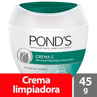crema ponds c limpiadora x  45 gr original